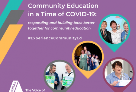 Community Education in a Time of COVID-19: responding and building back better together for community education
