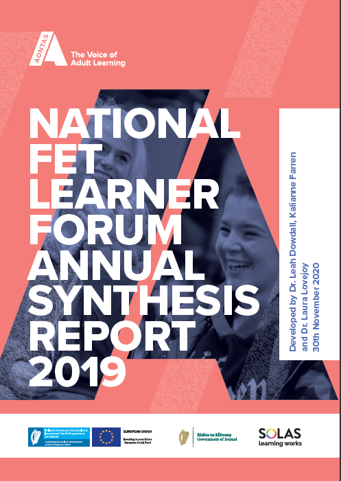 National FET Learner Forum Annual Synthesis Report 2019 pdf