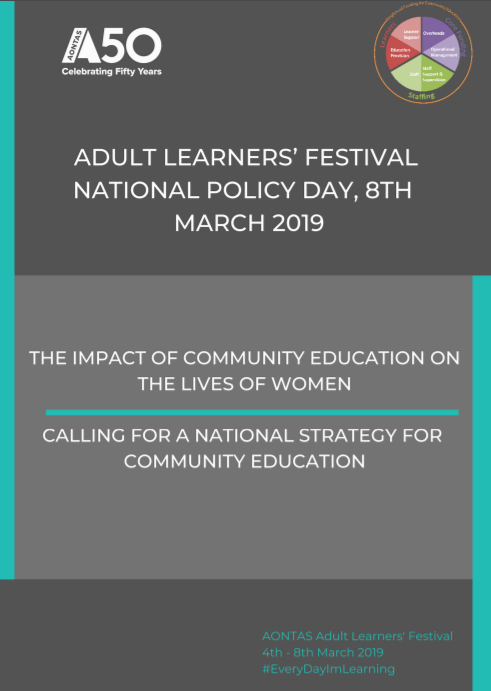 AONTAS Policy Day Discussion Paper 2019 pdf