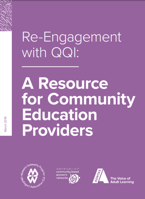 Re-Engagement with QQI: A Resource for Community Education Providers- pdf